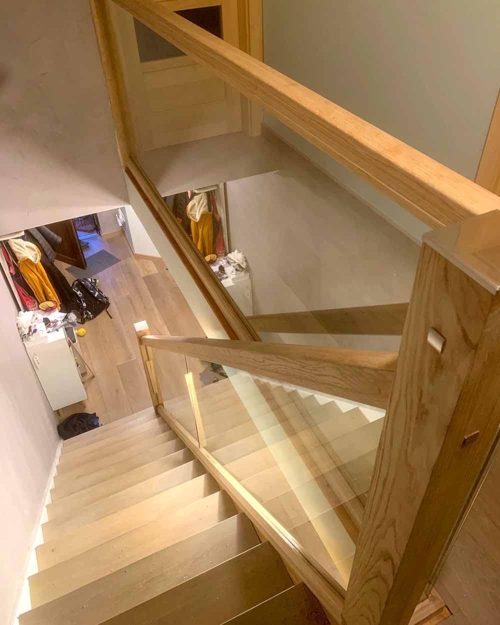 Glass Staircase Installation Ireland